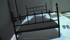 video installazione  di Fabio Rao  con Federica Apa foto di scena Chiara Chiodi